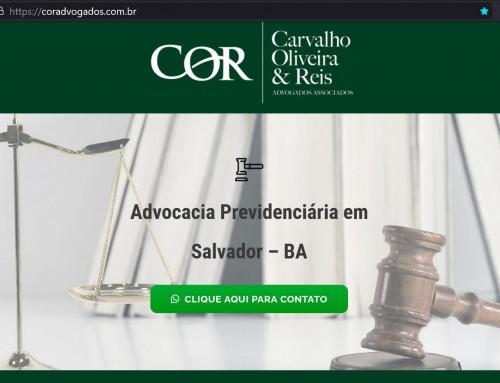 Landing Page COR Advogados